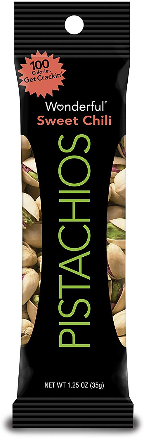Wonderful Pistachios, Sweet Chili, 1.25 Ounce Bag