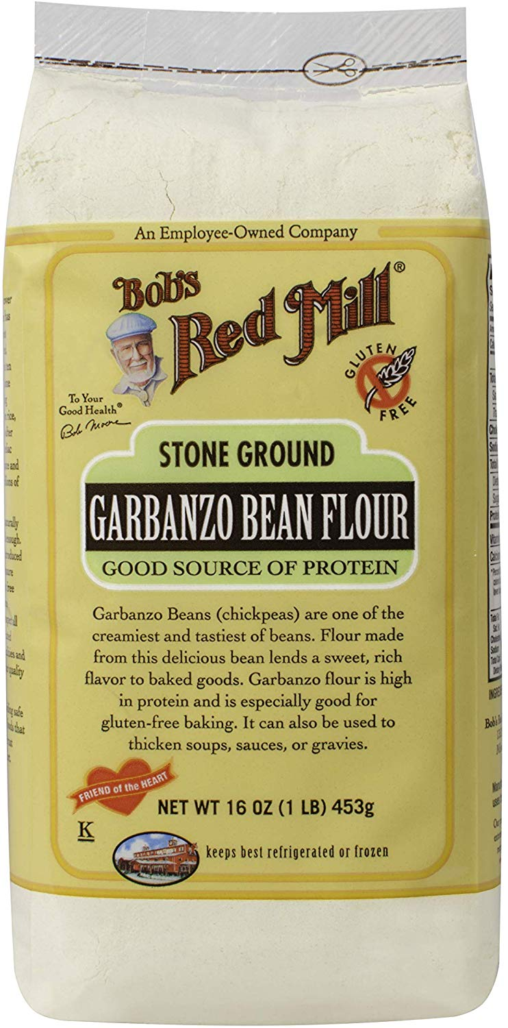 Bobs Red Mill Garbanzo Bean Flour, 16 Ounce