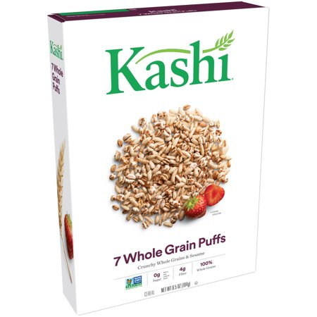 Kashi 7 Whole Grain Cereals Puffs, 6.5 Ounce