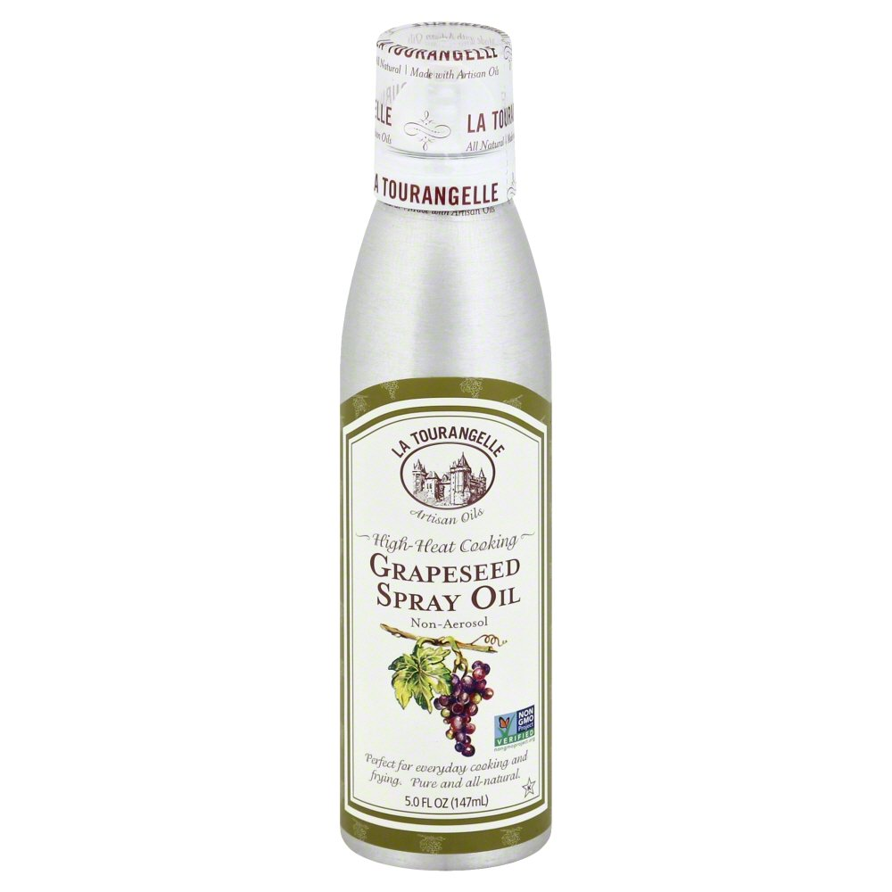La Tourangelle, Expeller-Pressed Grapeseed Oil Spray, 5 fl oz (147 ml)