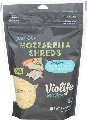 Violife, Shreds Just Like Mozzarella, 8 Ounce