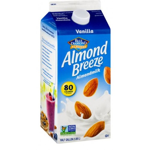 Almond Breeze Almond Milk Vanilla, 64 oz
