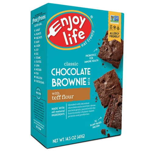Enjoy Life Brownie Mix with Teff Flour Gluten Free -- 14.5 oz