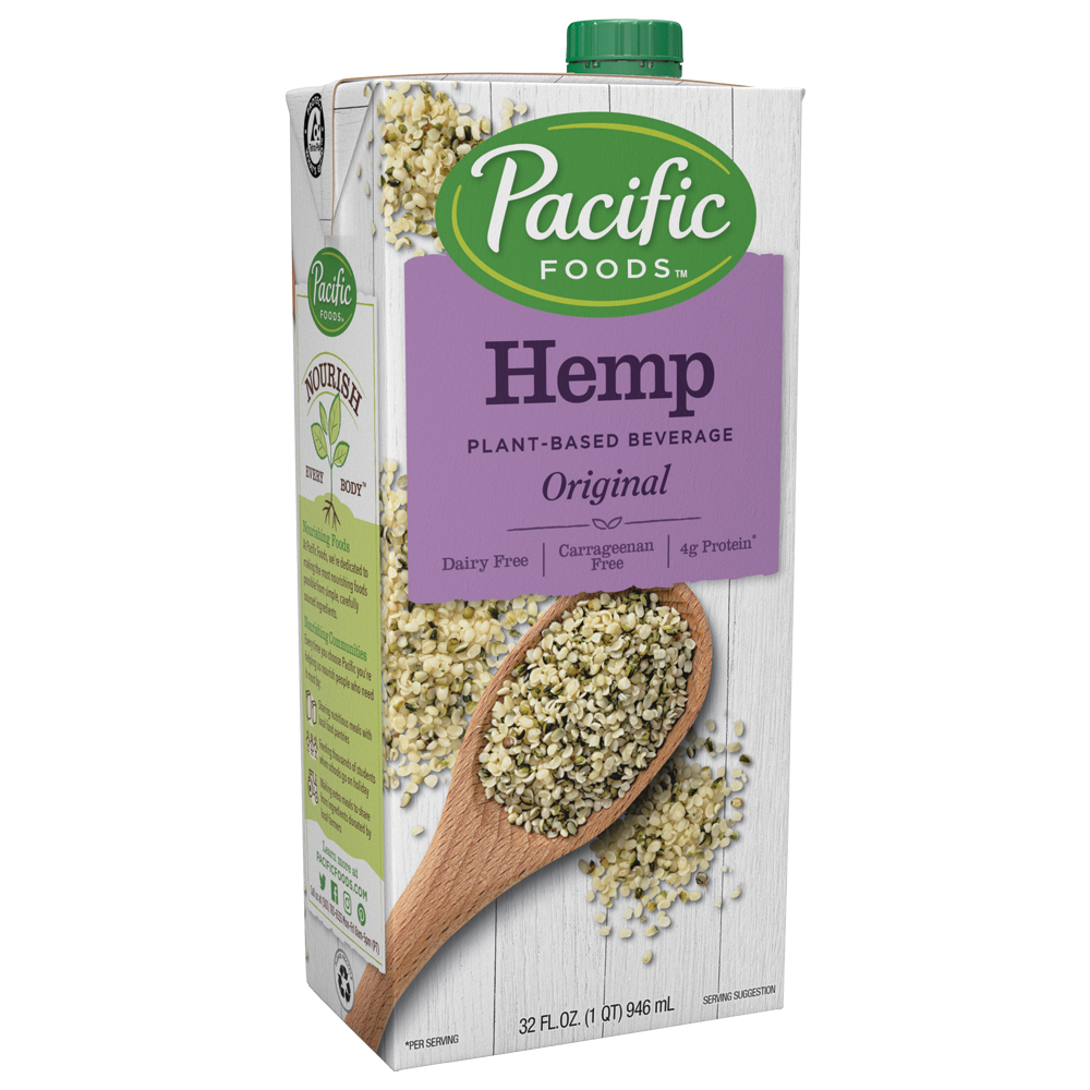 Pacific Foods Original Hemp Milk 32floz