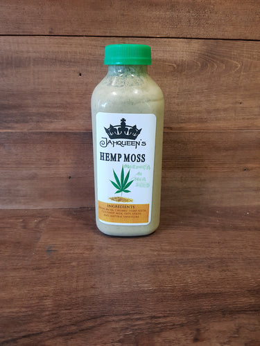 Jahqueen's Hemp Moss with Moringa and Chia Seeds
