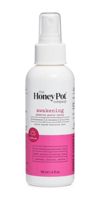 The honey pot company awakening jasmine panty spray