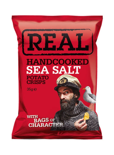 Real Crisps Sea Salt