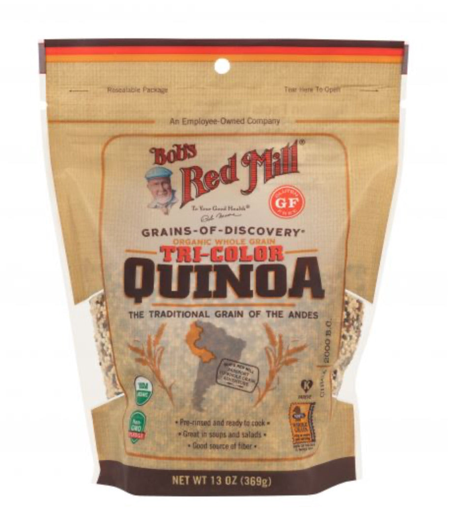 Bob's Red Mill Organic Tricolor Quinoa Grain