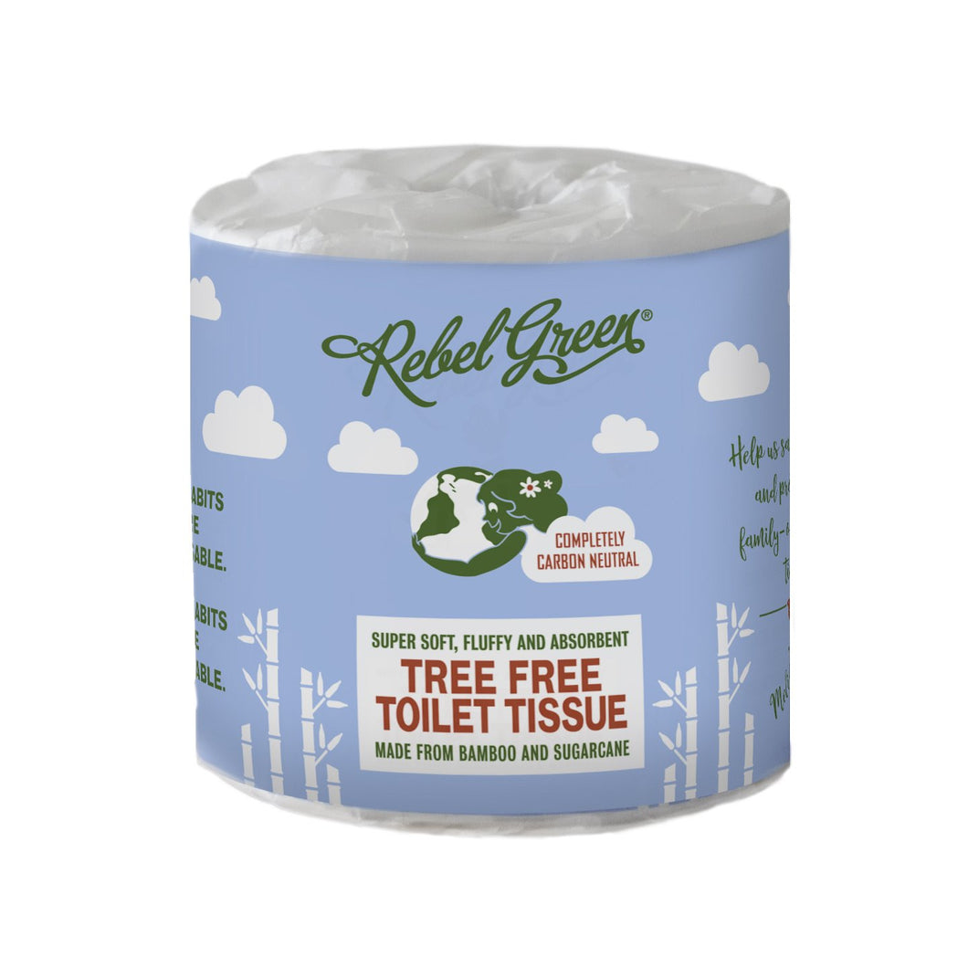 Rebel Green Tree Free toilet tissue (single roll)