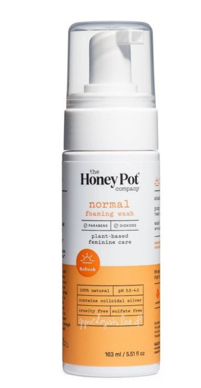 The honey pot company normal foaming wash