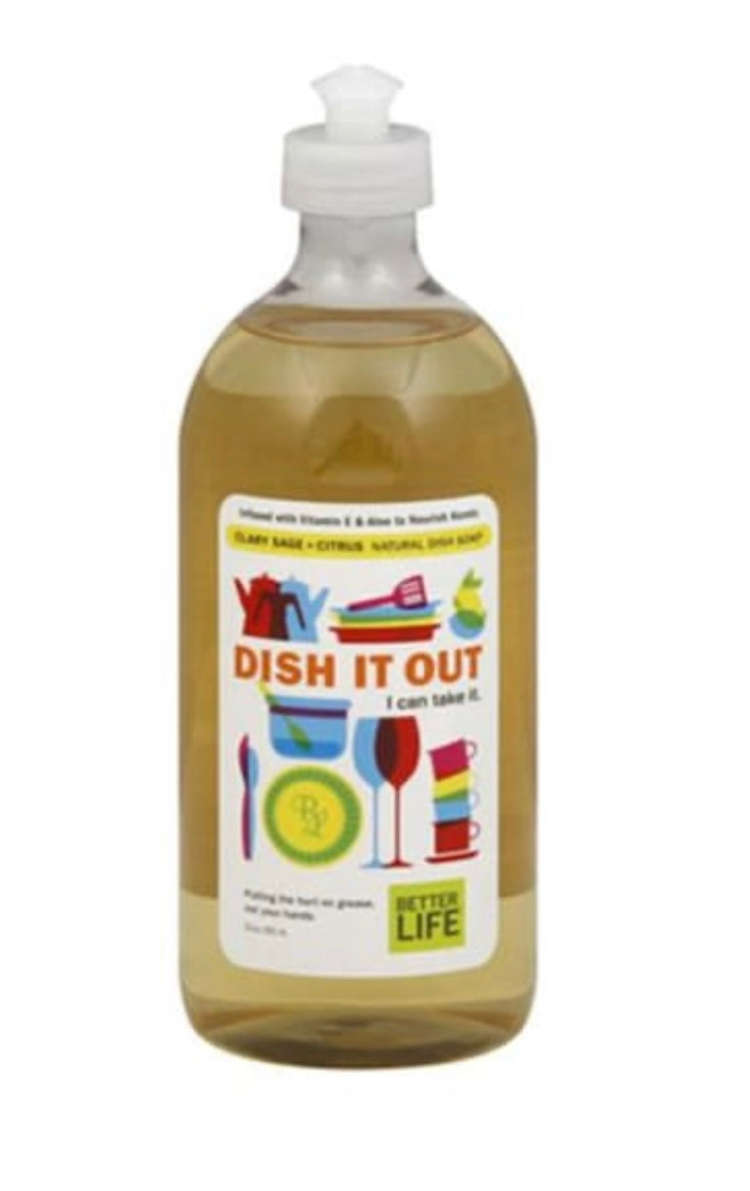 Better Life Clary Sage and Citrus Natural Dish Soap