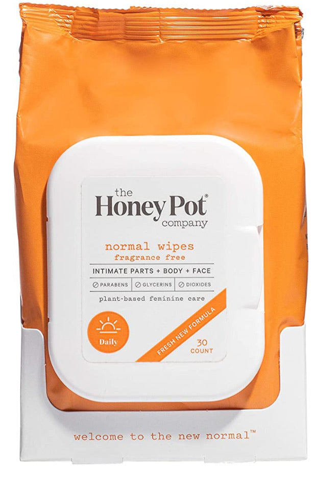 The honey pot company normal wipes fragrance free