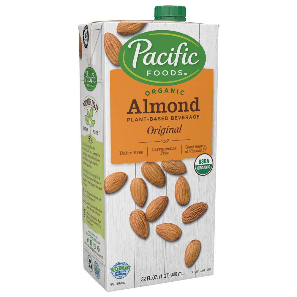 Pacific Foods Organic Almond Milk