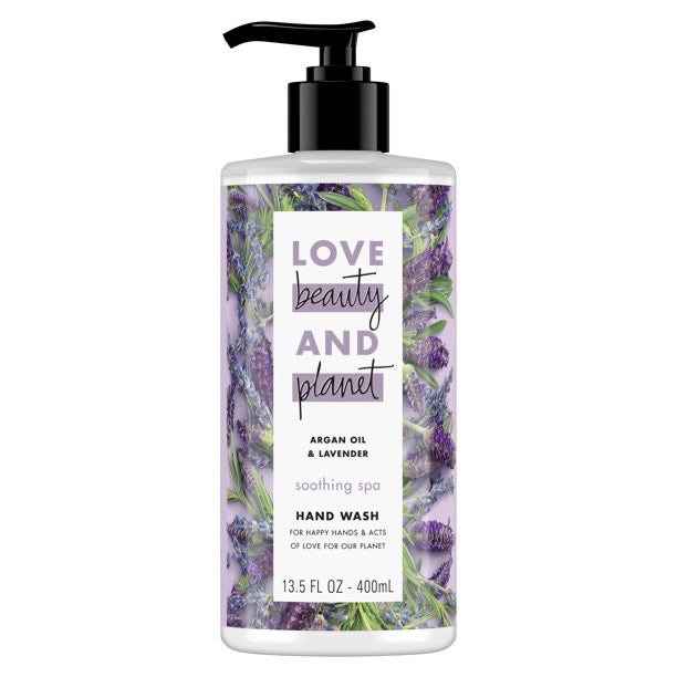 Love beauty and planet argan oil & lavender soothing spa hand wash