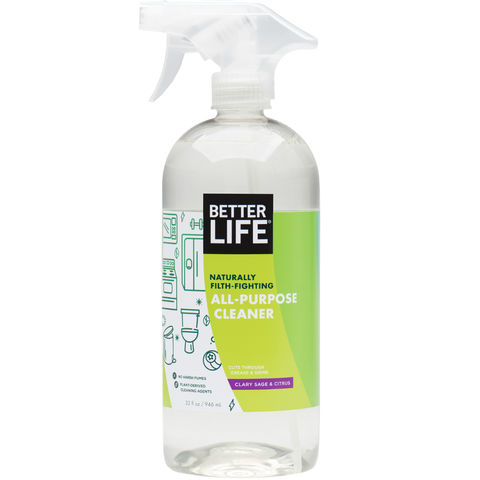 Better Life Naturally Filth-Fighting ALL-PURPOSE CLEANER