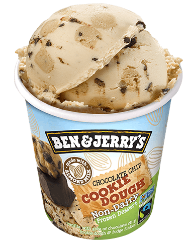 Ben and Jerry's Chocolate Chip Cookie Dough Non Dairy Ice Cream