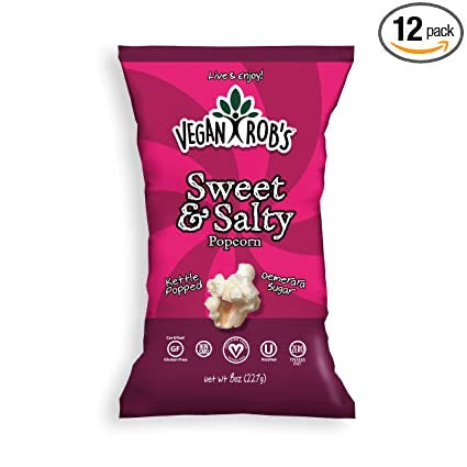 Vegan Rob's Sweet and Salty Popcorm