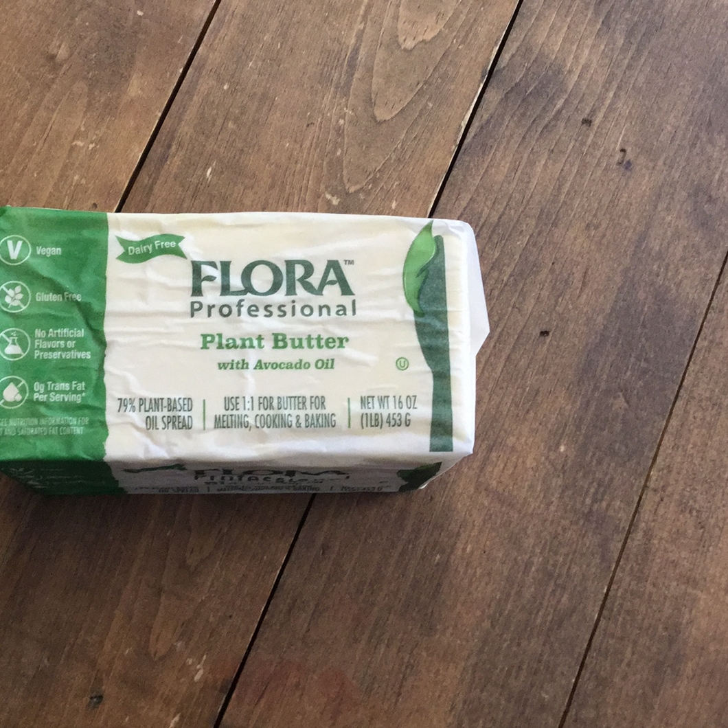 Flora professional plant butter with avocado oil