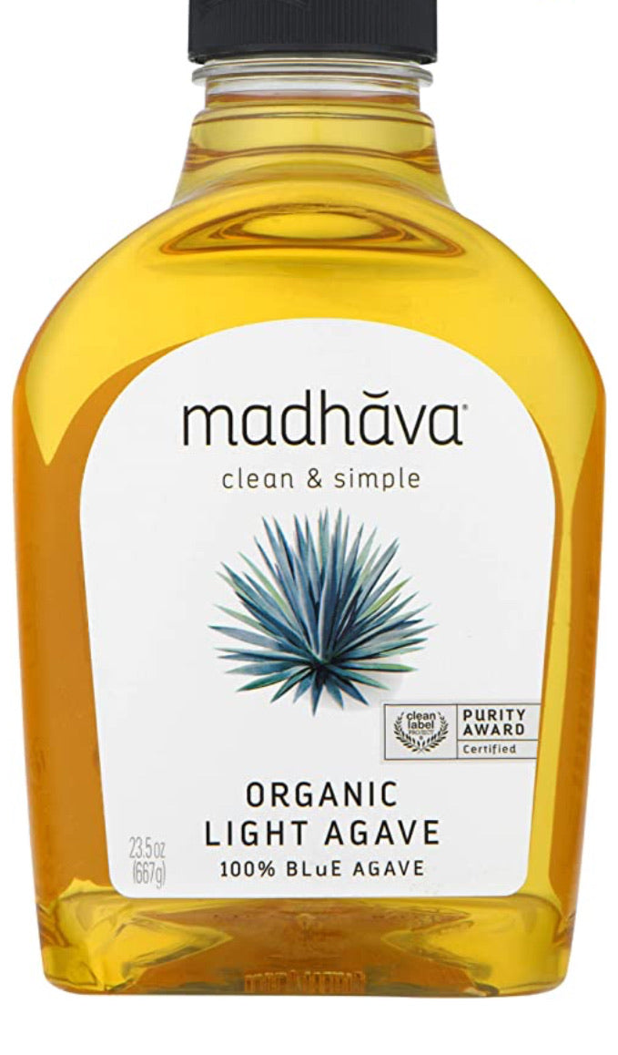 Madhava clean & simple organic light agave