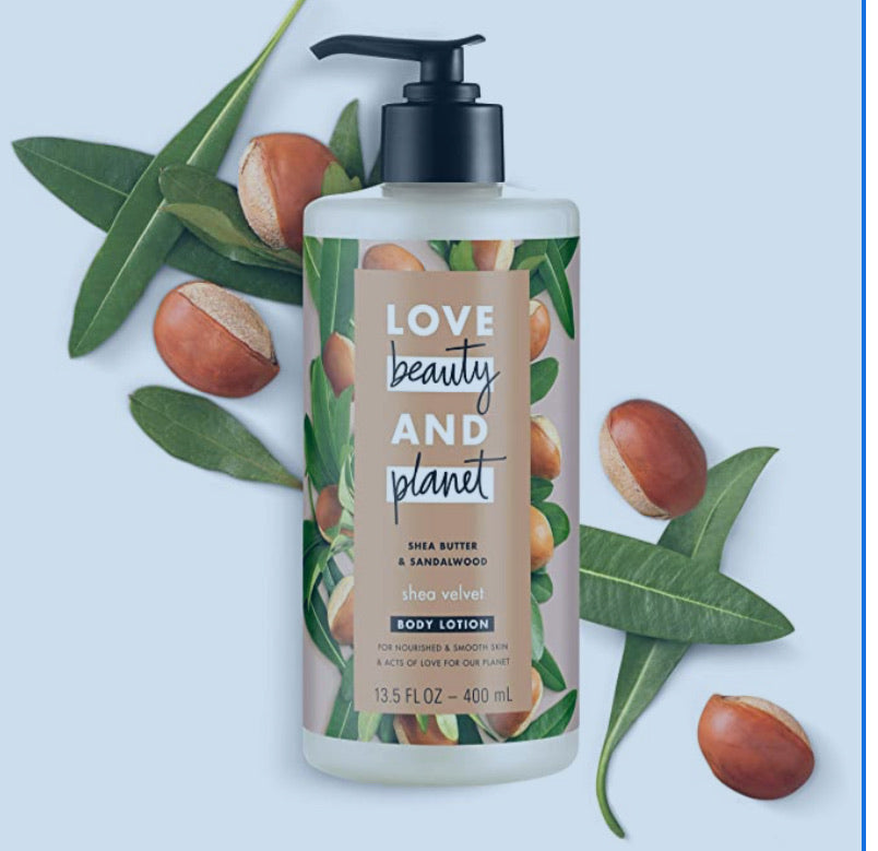 Love beauty and planet Shea butter & sandlewood body lotion