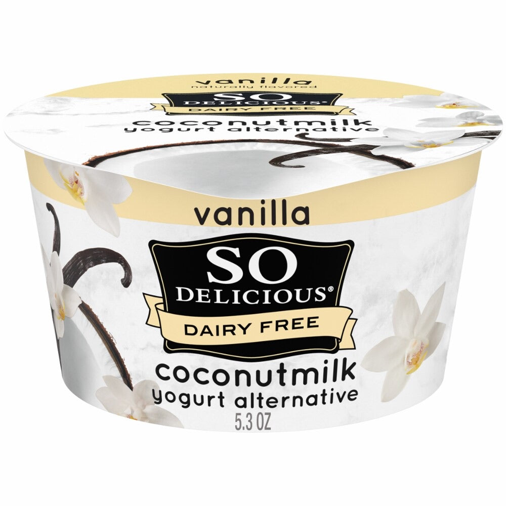 So Delicious Dairy free coconutmilk yogurt alternative vanilla