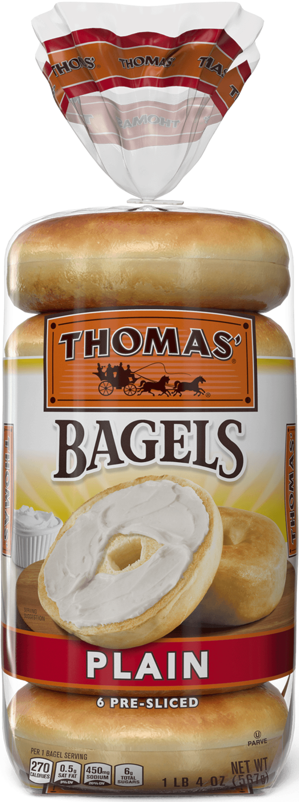 Thomas' Plain Bagels
