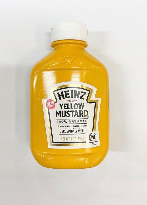 Heinz Vegan Yellow Mustard