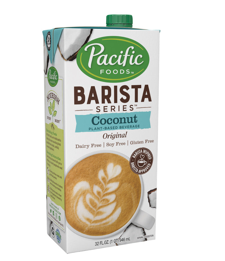 Pacific foods barista series coconut plant-based beverage original