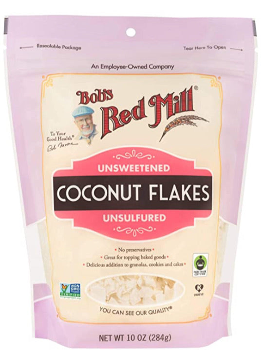 Bob's Red Mill - Unsweetened Coconut Flakes 10 oz