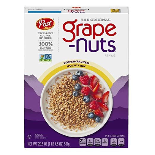 The Original Grape Nut Cereal