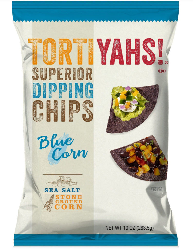 TORTIYAHS!® Superior Dipping Chips, Blue Corn