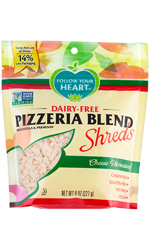Follow Your Heart Pizzeria Blend Shreds
