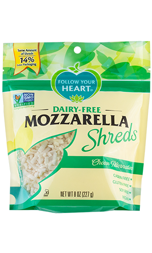Follow Your Heart Dairy Free Mozzarella Shreds 8oz