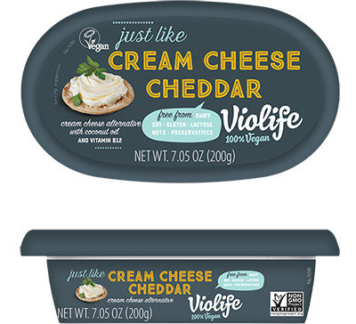 Violife Just Like Cheddar Cream Cheese