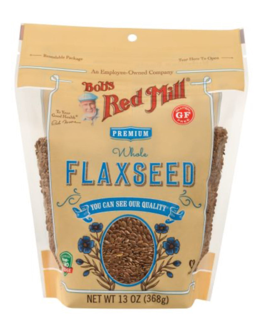 Bob's Red Mill Whole Organic Brown Flaxseed