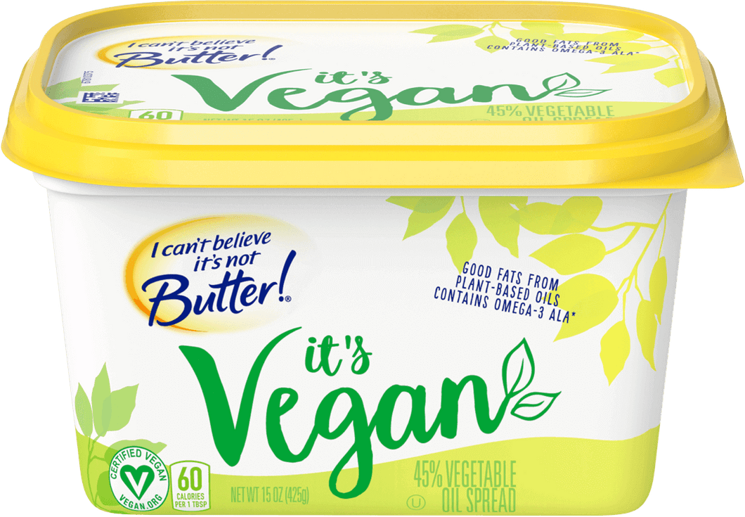 I Can't Believe It's Not Butter - Vegan