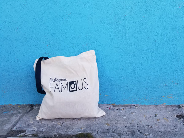 Instagram Famous Tote Bag