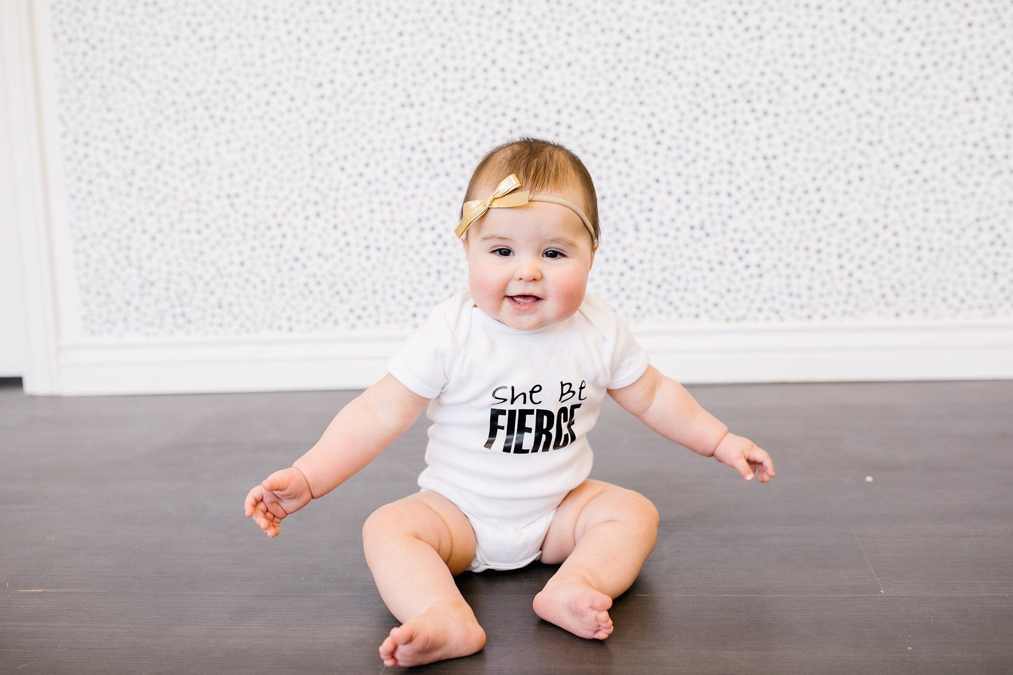 She Be Fierce Onesie