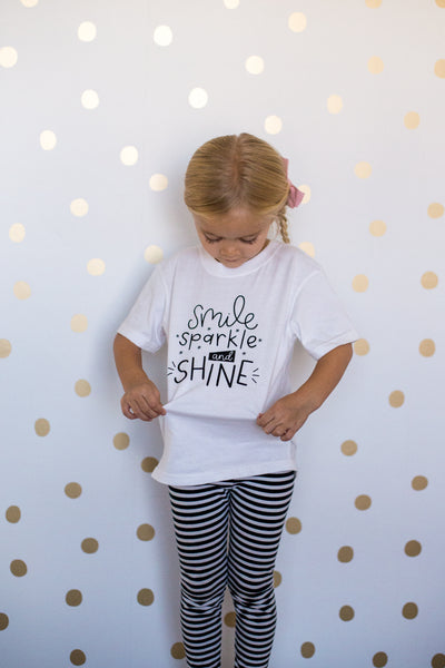 Smile Sparkle and Shine Onesie