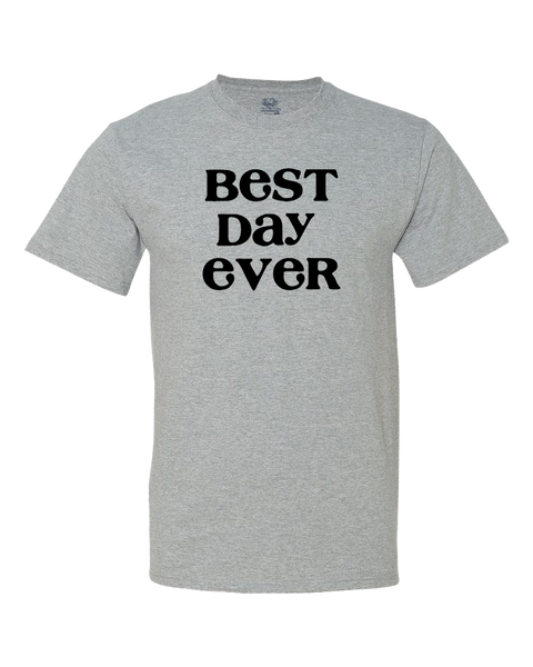 Best Day Ever Big Kid Shirt