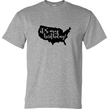 It's My Birthday America Political Shirt