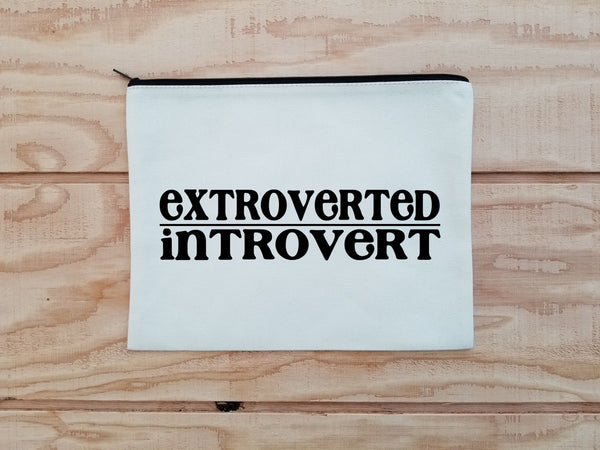 Extroverted Introvert Carry All Bag