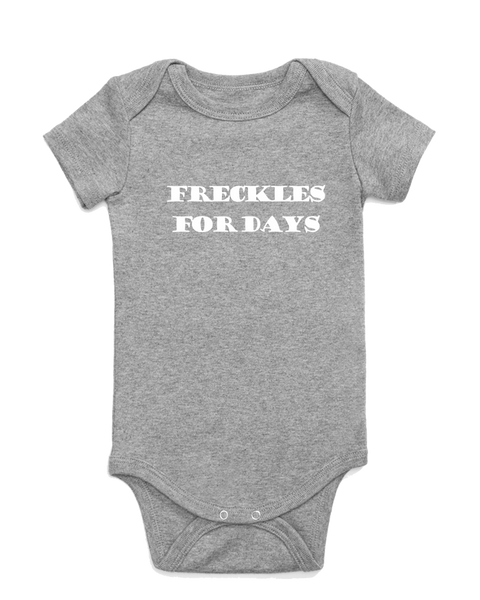 Freckles for Days Onesie
