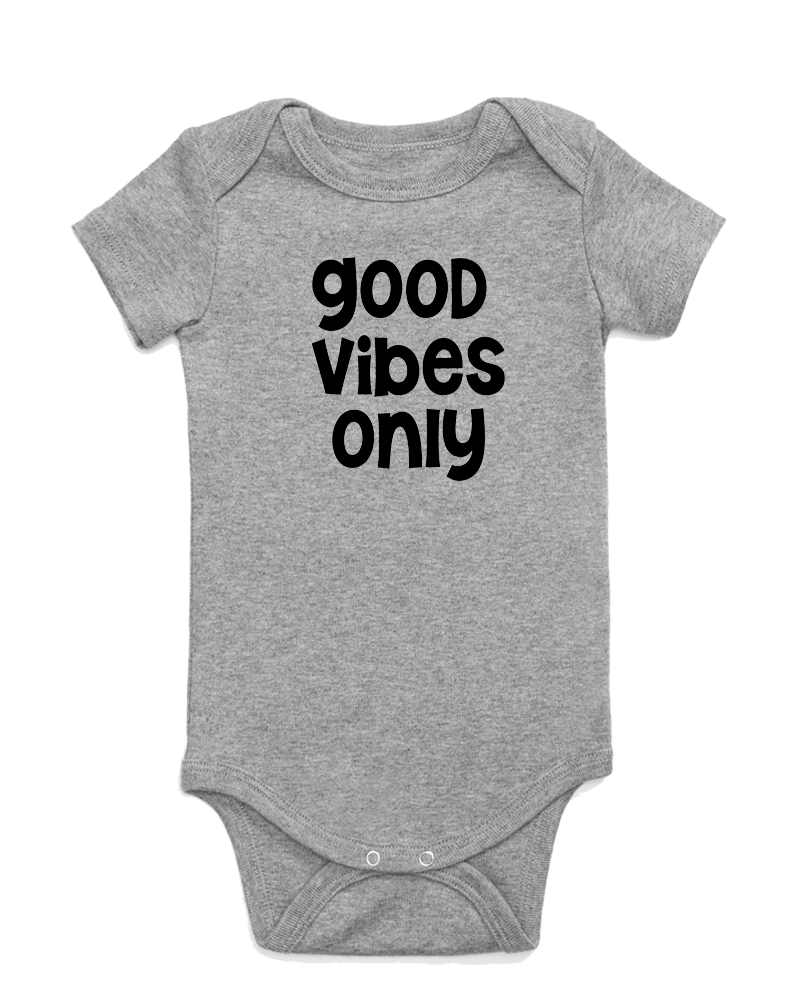 Good Vibes Only Onesie