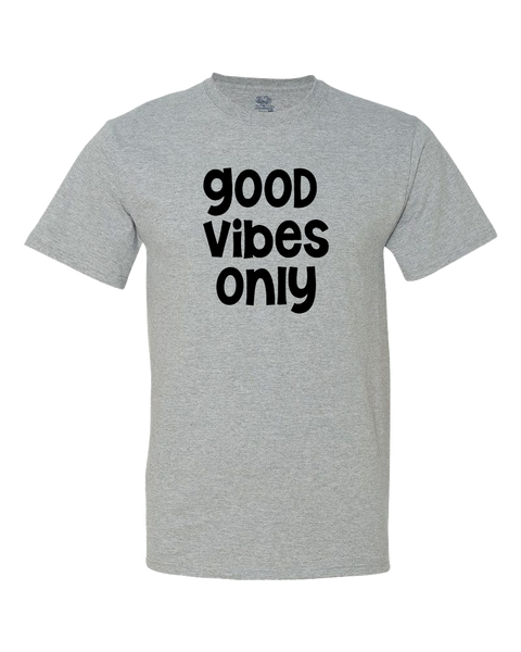 Good Vibes Only Big Kid Shirt