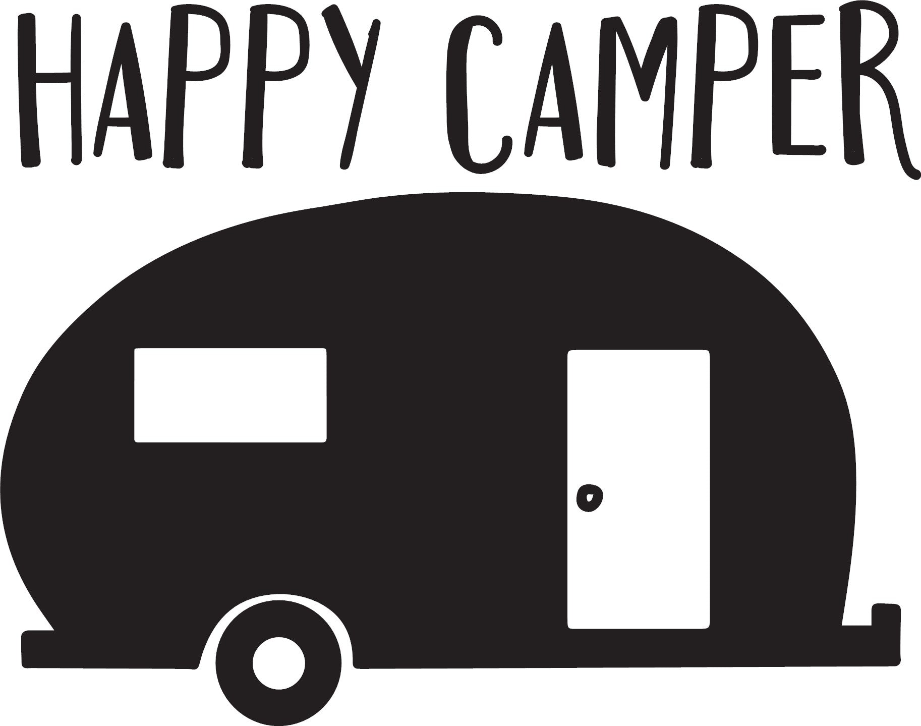 Happy Camper Big Kid