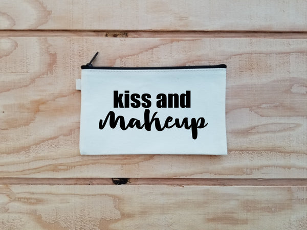 Kiss and Makeup Makeup Bag