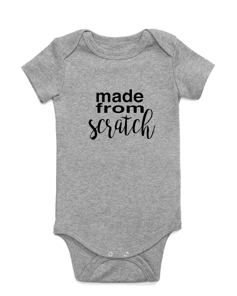 Made from Scratch Onesie