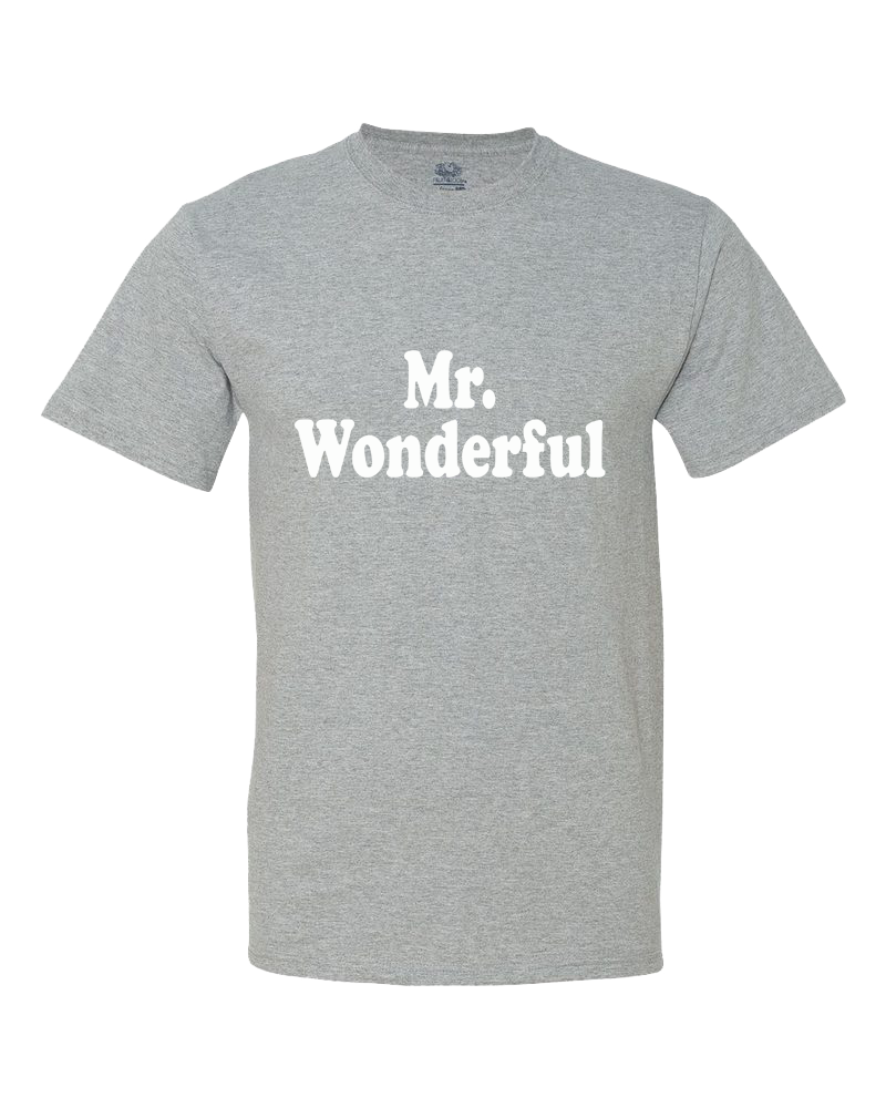 Mr Wonderful Little Kid Shirt