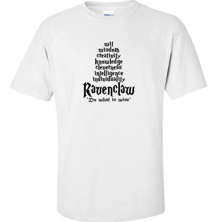 Ravenclaw House Traits Unisex Tee